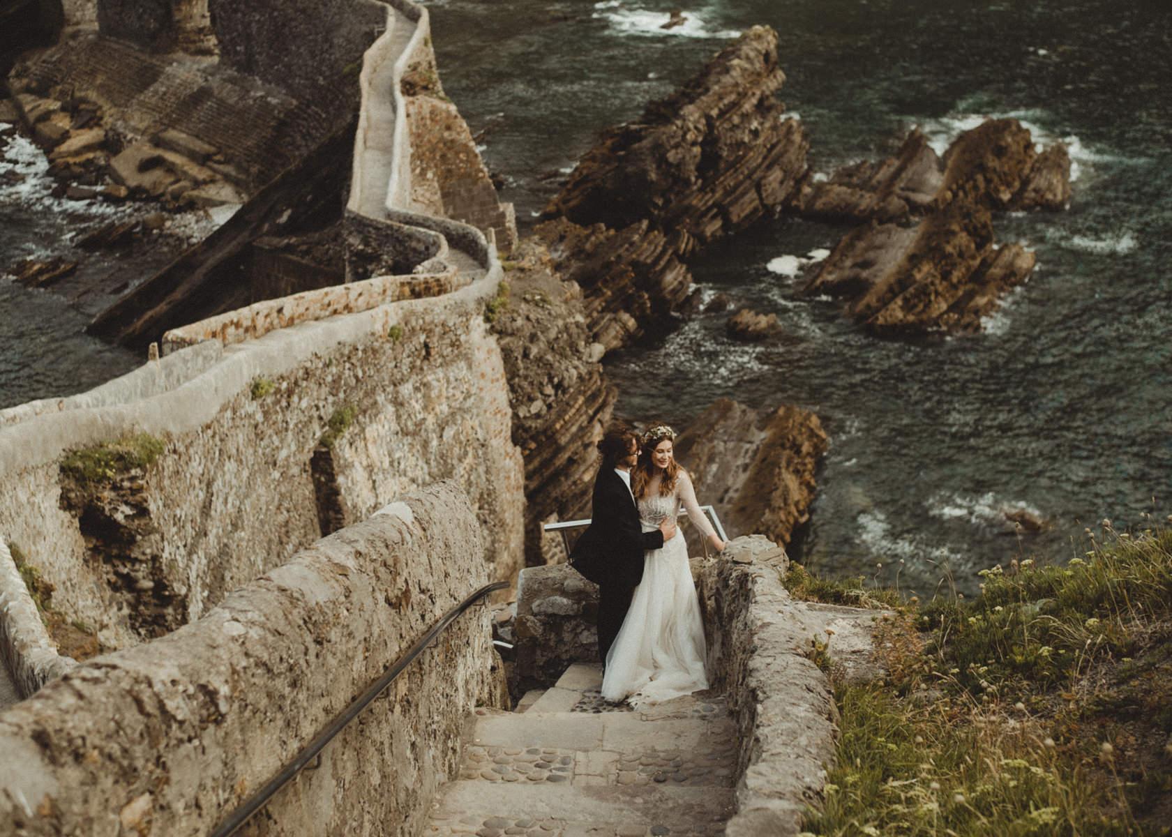 reportaje de boda en san juan de gaztelugatxe