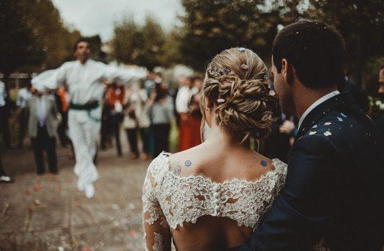 Baile del Aurresku boda en Amorebieta