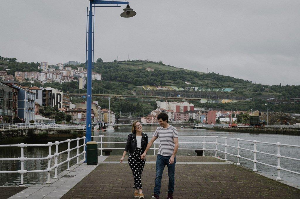 Reportaje de pareja Bilbao con Jaione y Beñat 9
