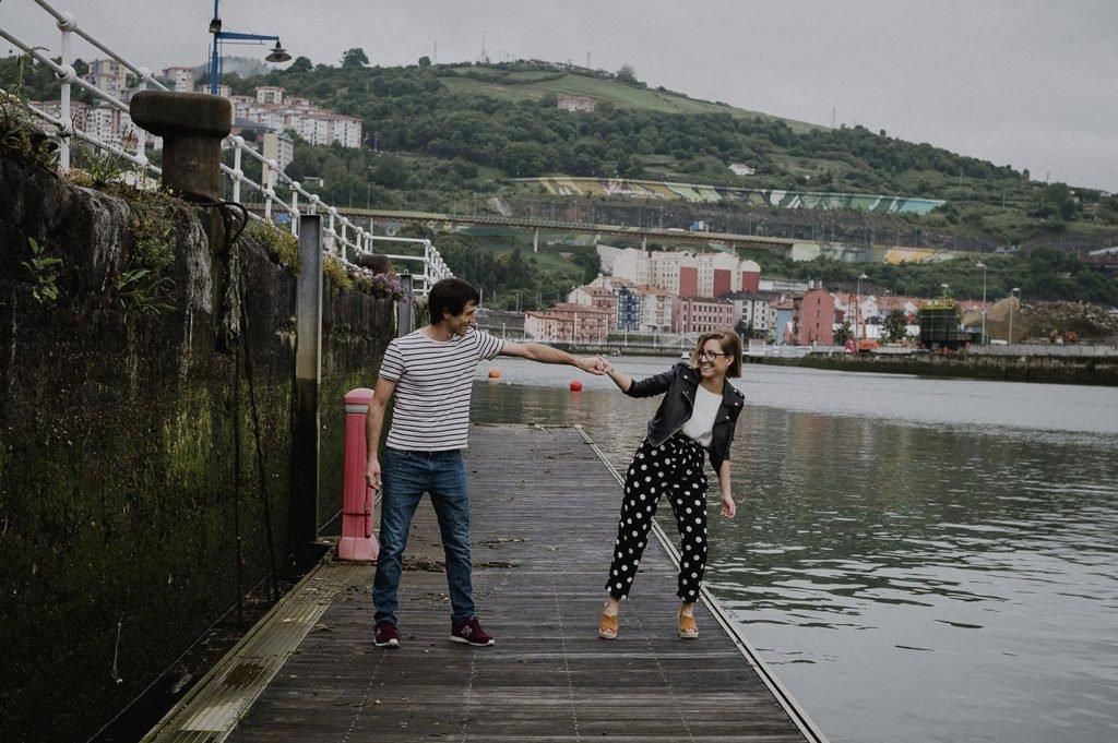 Reportaje de pareja Bilbao con Jaione y Beñat 7