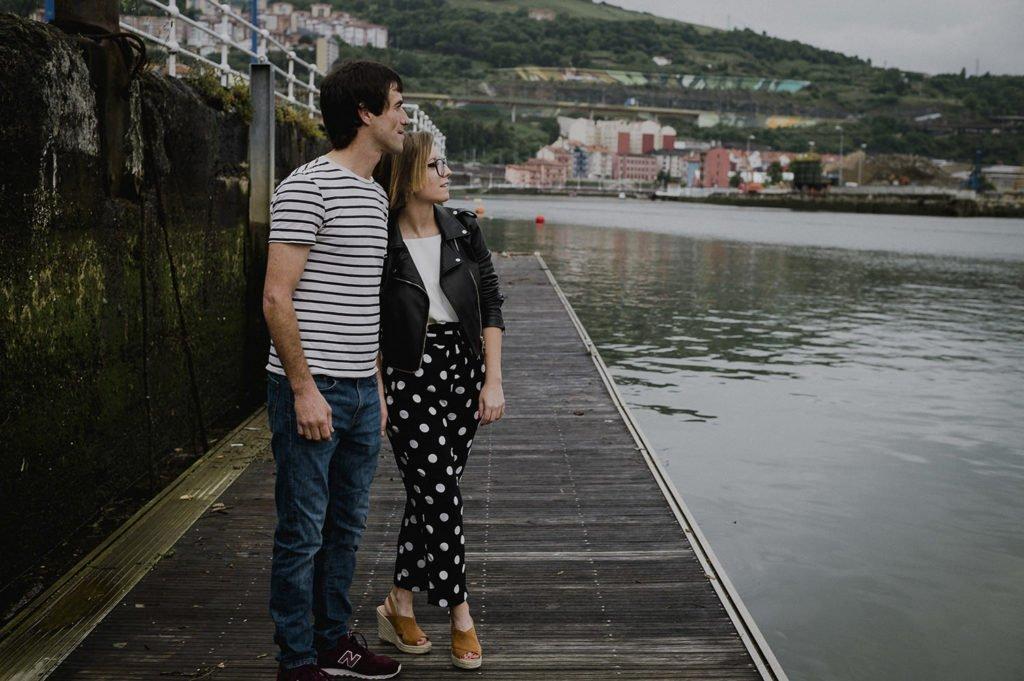 Reportaje de pareja Bilbao con Jaione y Beñat 8