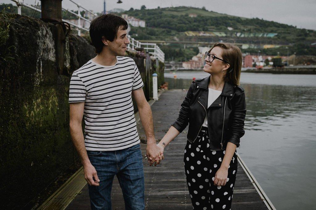 Reportaje de pareja Bilbao con Jaione y Beñat 2