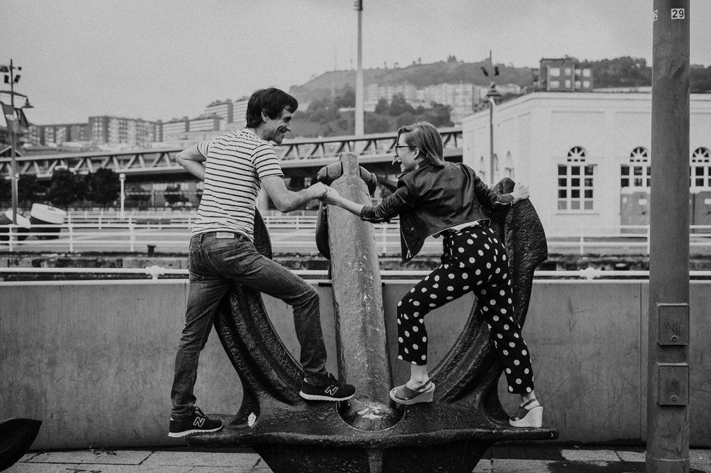 reportaje de pareja Bilbao