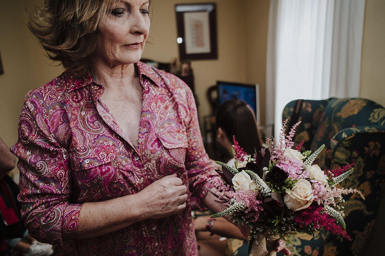 Foto de ramo de flores de boda en bilbao