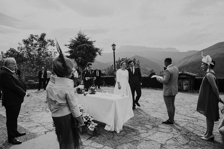 Reportaje de boda en Axpe Goikoa