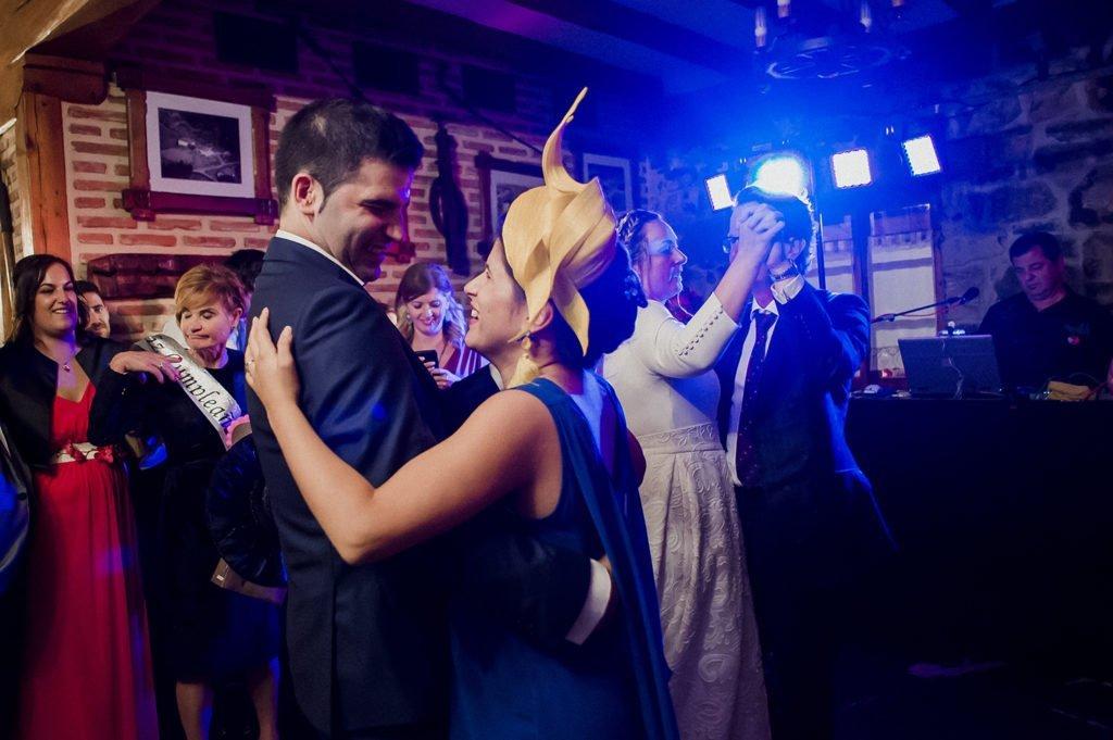 Fotografia baile de boda