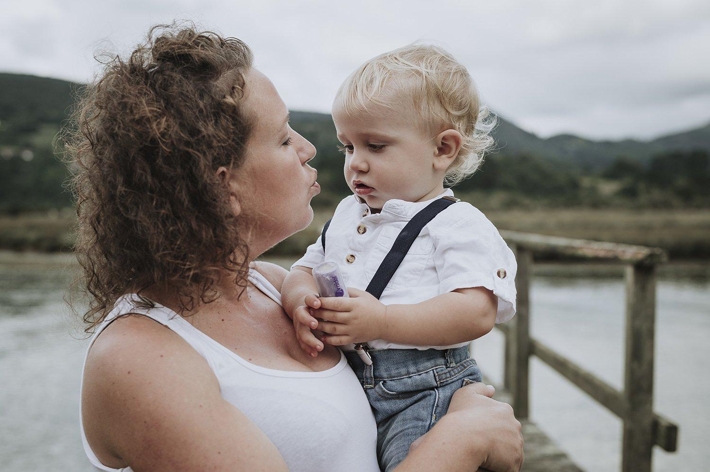 La maternidad un momento precioso