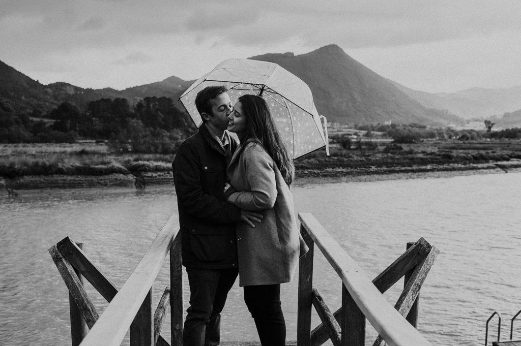 reportaje de fotos de pareja antigua telleria de Murueta