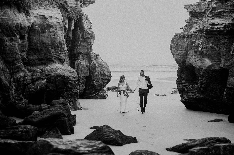 reportaje de fotos en la playa de Galizano en Cantabria