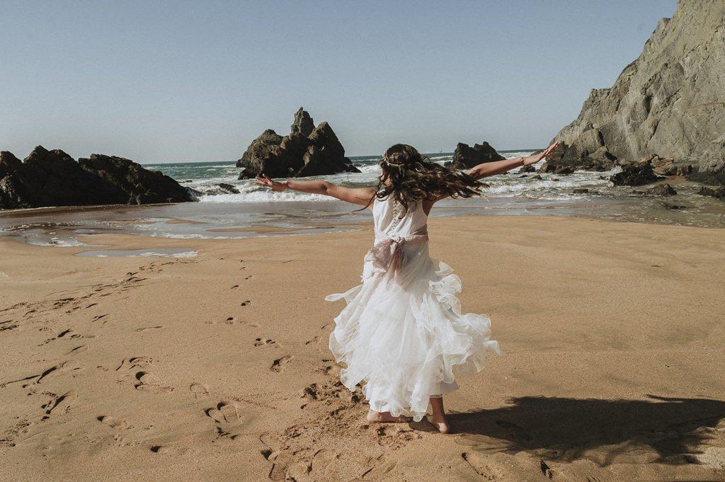 22 de Junio reportaje de comunión con Iratxe, en la playa de Laga 5