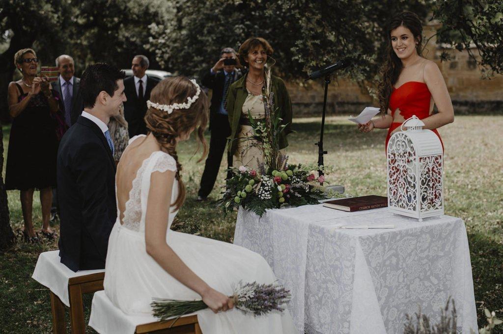 Emocionantes palabras de la hermana de la novia en el dia de su boda