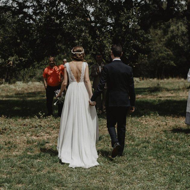Foto de boda en la finca el Encinar en la Rioja