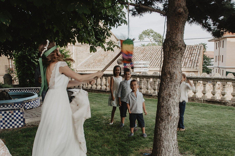 Fiesta y diversión en la boda
