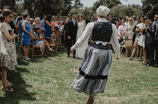 Baile tradicional Vasco muy popular para bailas en las bodas llamado Aurresku