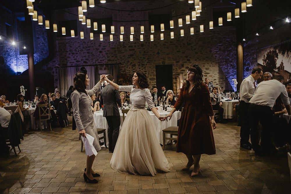reportaje de bodas en invierno