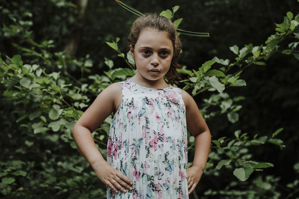 reportaje de fotos familia en verano