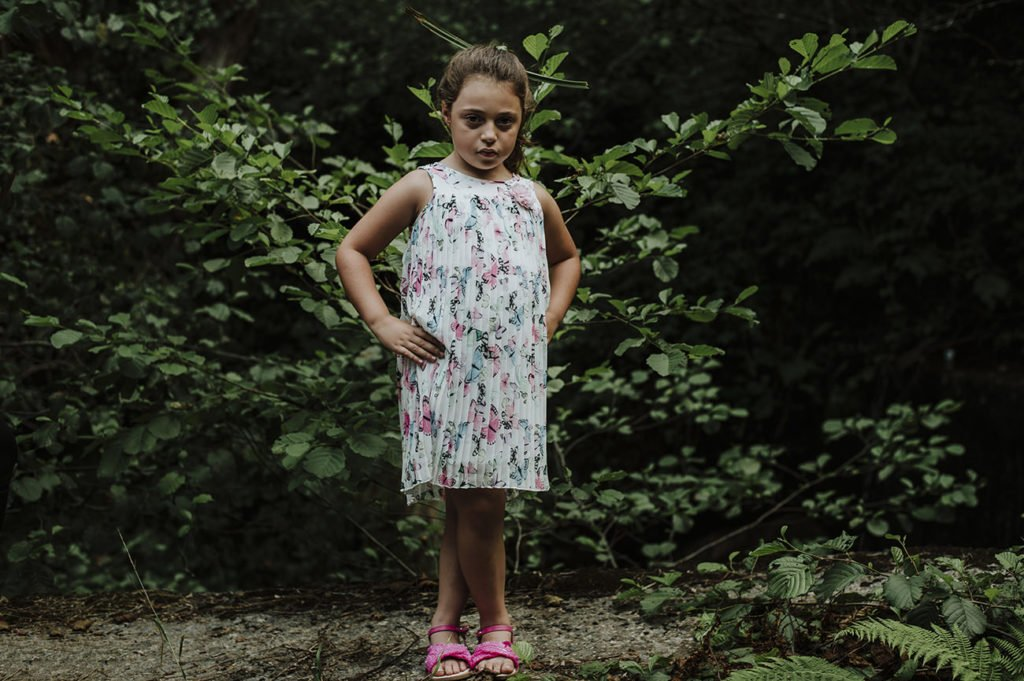 reportaje infantil en Amorebieta