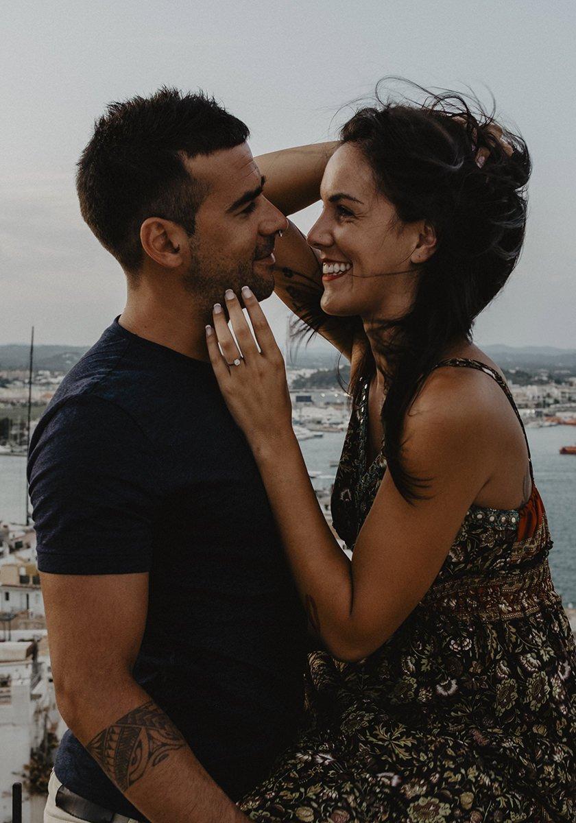 fotos de pareja en Ibiza