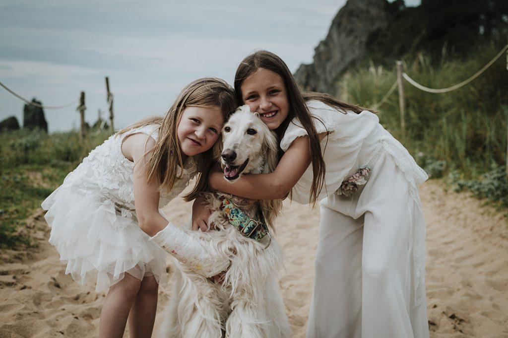Fotos de comunión con mascotas