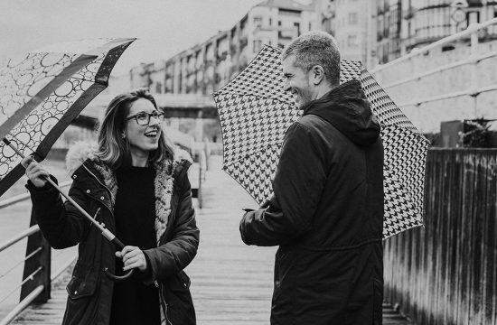 reportaje de fotos de pareja en Bilbao