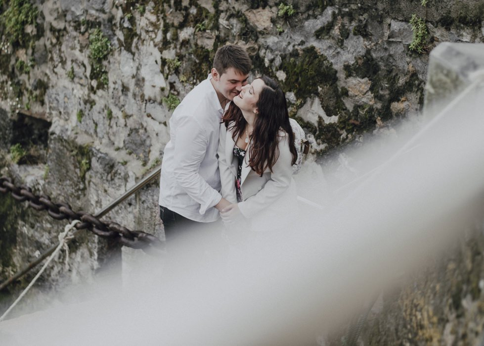 Reportaje fotográfico de pareja en Mundaka